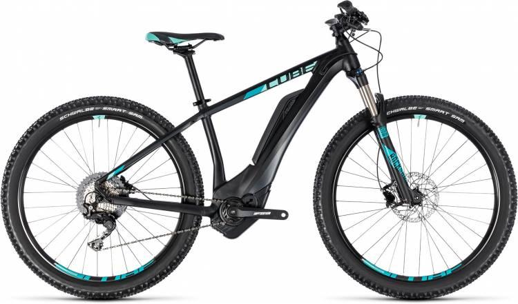 Cube Access Hybrid Race 500 black n mint 2018 - Damen E-Bike Hardtail Mountainbike