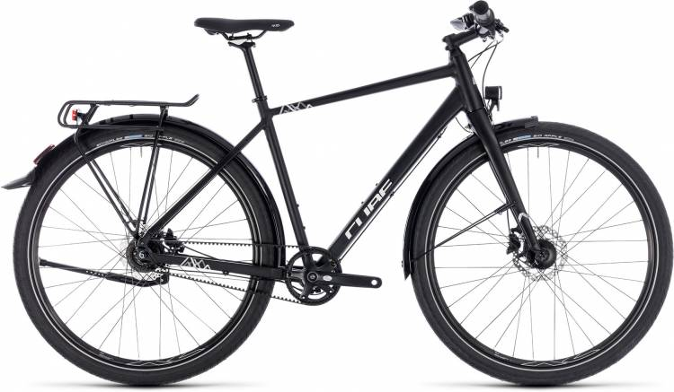 Cube Travel Pro black n white 2018 - Herren Trekkingrad