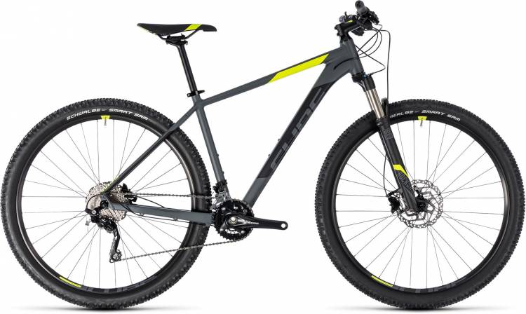 Cube Attention SL grey n flashyellow 2018 - Hardtail Mountainbike