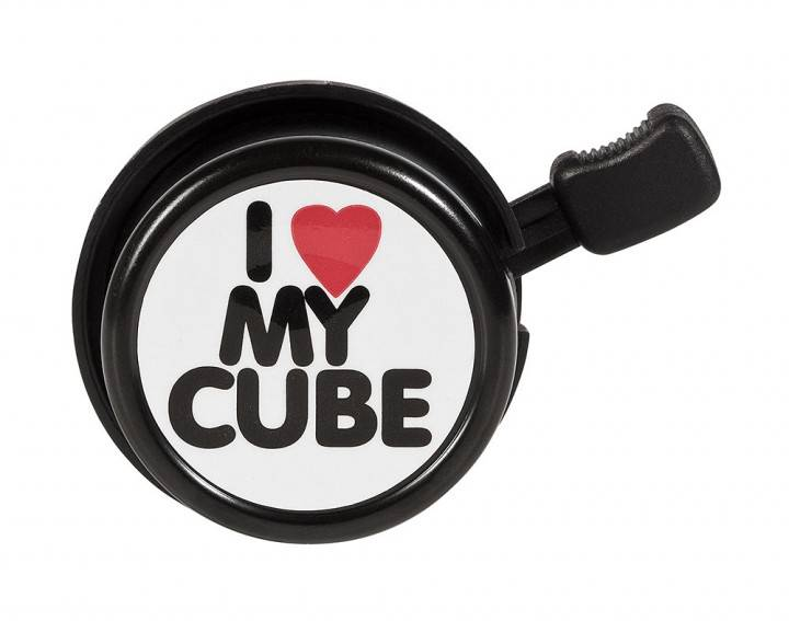 CUBE Fahrradklingel >I LOVE MY CUBE<