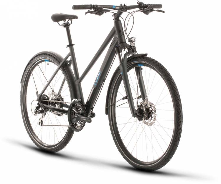 Cube Nature Allroad iridium n blue 2020 - Crossrad Damen