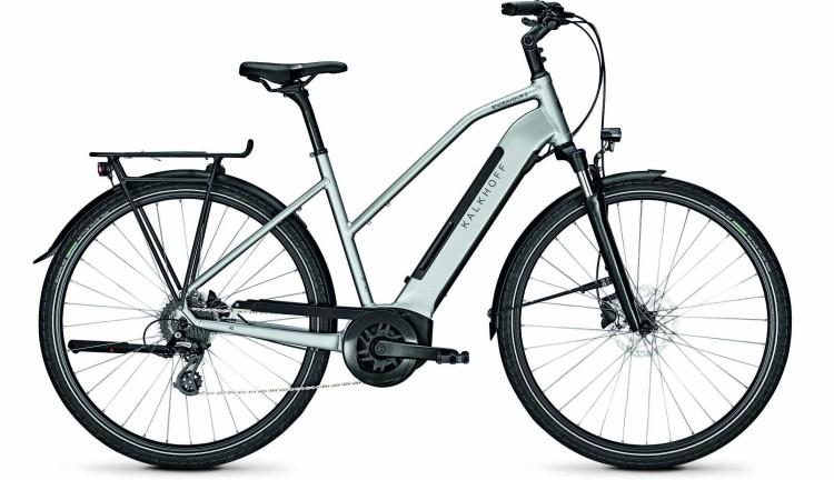 Kalkhoff Endeavour 3.B Move smokesilver glossy (Trapez) 2020 - E-Bike Trekkingrad Damen