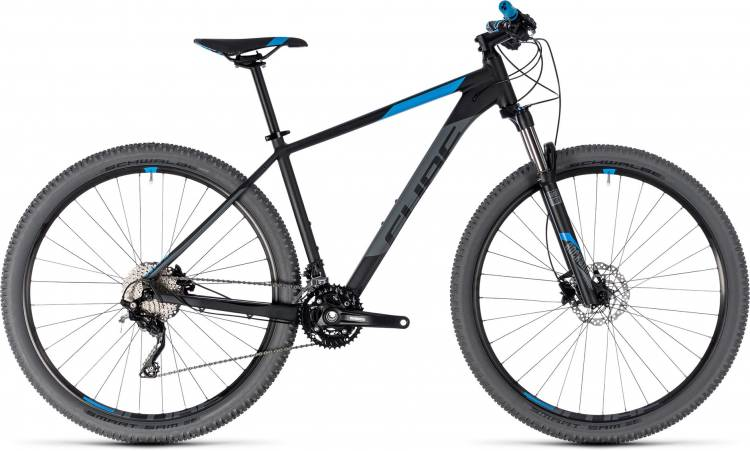 Cube Attention black n blue 2018 - Hardtail Mountainbike