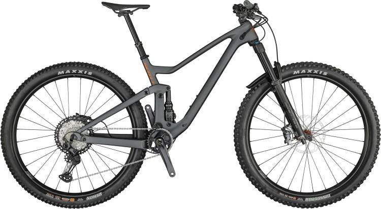 Scott Genius 920 matt wolf grey / brushed metall copper 2021 - Fully Mountainbike