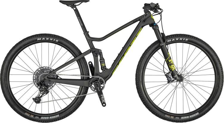 Scott Spark RC 900 Comp dark grey / black / yellow 2021 - Fully Mountainbike