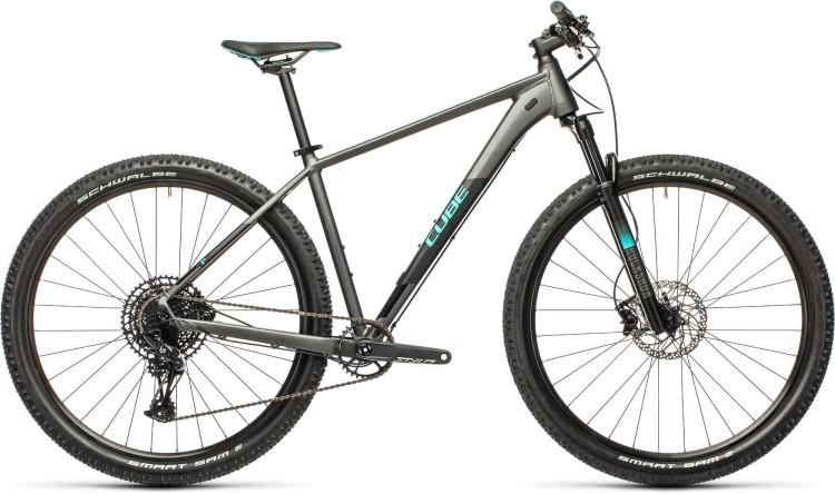 Cube Acid grey n aqua 2021 - Hardtail Mountainbike