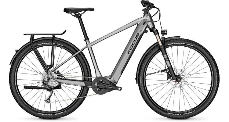 Focus Aventura2 6.7 Toronto Grey 2021 - E-Bike Trekkingrad Herren