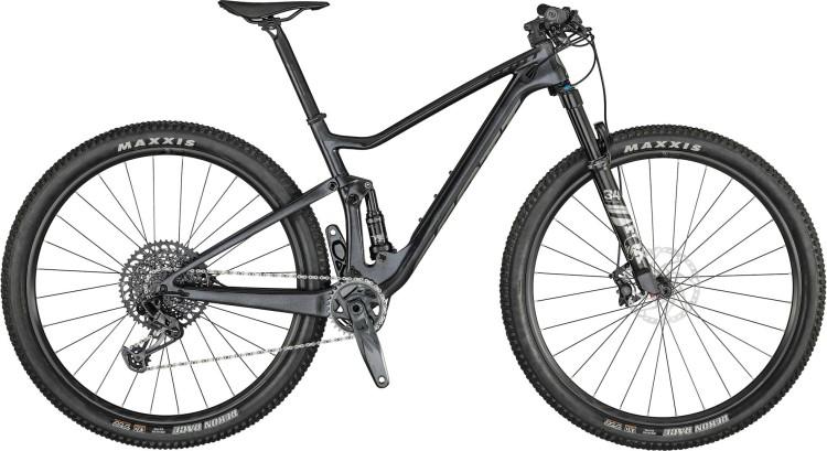 Scott Spark RC 900 Team granite black / brushed 2021 - Fully Mountainbike