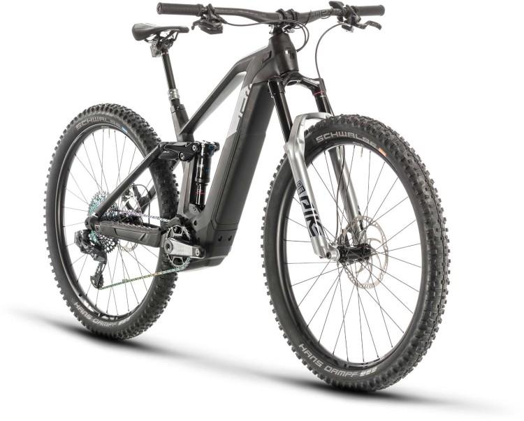 Cube Stereo Hybrid 140 HPC SLT 625 29 carbon n silver 2020 - E-Bike Fully Mountainbike
