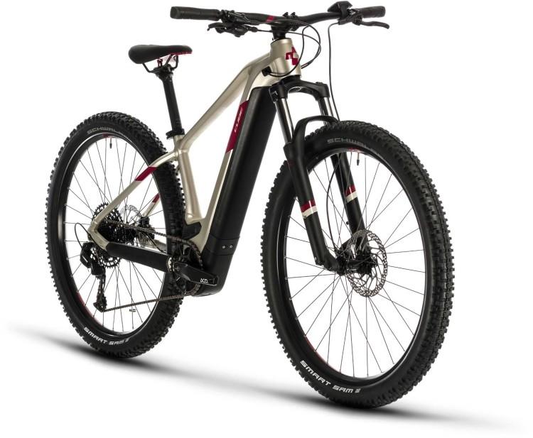 Cube Access Hybrid EX 500 29 titan n berry 2020 - E-Bike Hardtail Mountainbike