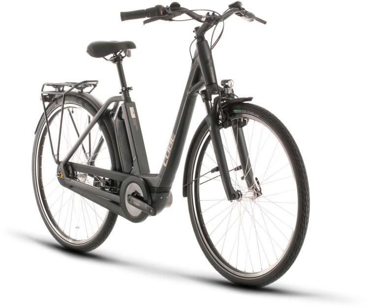 Cube Town Hybrid ONE 500 iridium n black 2020 - E-Bike Trekkingrad Tiefeinsteiger