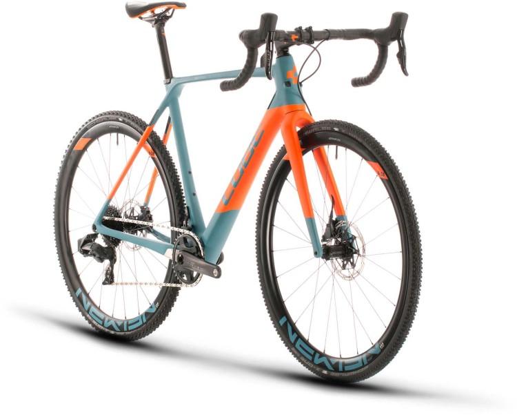 Cube Cross Race C:62 SLT bluegrey n orange 2020 - Cyclocross