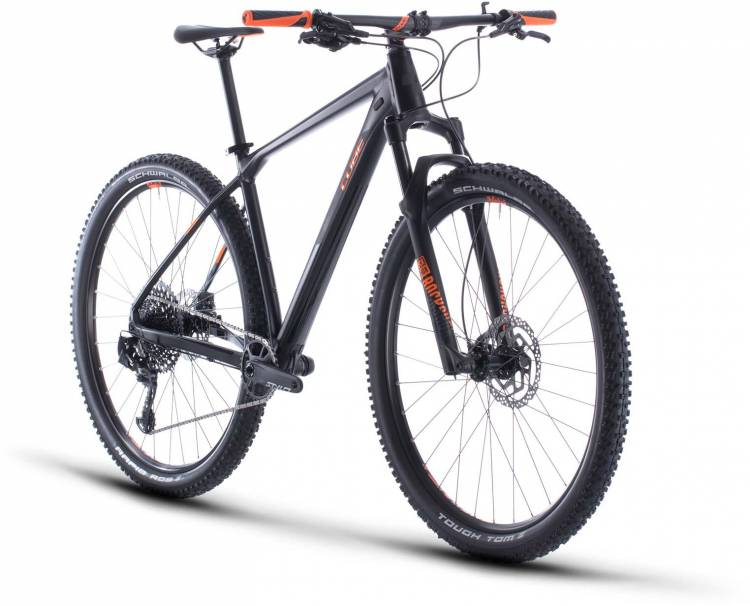 Cube Reaction Race black n orange 2020 - Hardtail Mountainbike