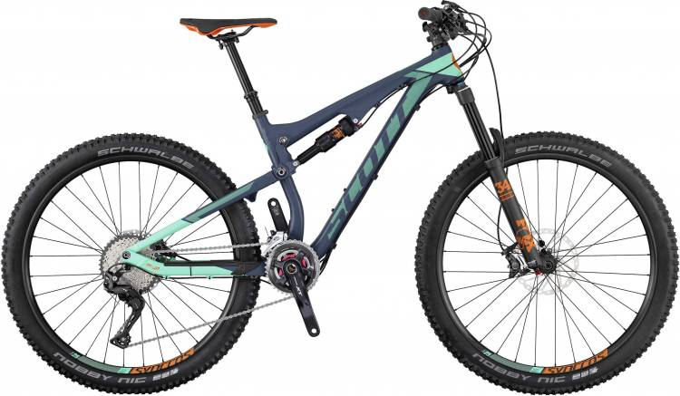 Scott Contessa Genius 710 2017 - Damen Fully Mountainbike