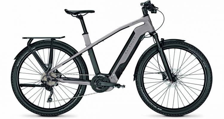 Kalkhoff Entice 7.B Move moonstonegrey/magicblack matt (Diamond) 2021 - E-Bike Trekkingrad Herren