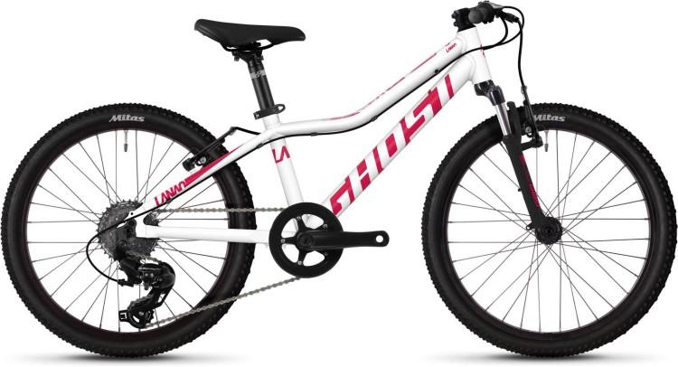Ghost Lanao 2.0 AL W star white / ruby pink 2020 - Kinderrad 20 Zoll