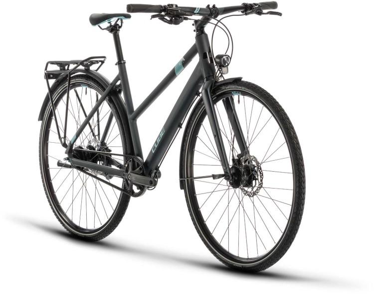 Cube Travel Exc iridium n blue 2020 - Trekkingrad Damen