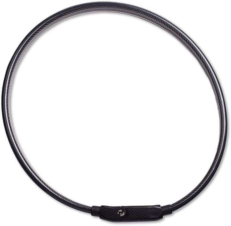 RFR Kabelschloss Dual Reflector black
