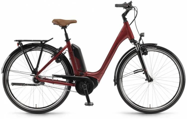 """Winora Tria N7f 400Wh 28"""" FL samtrot 2018 - Tiefeinsteiger E-Bike Trekkingrad"""