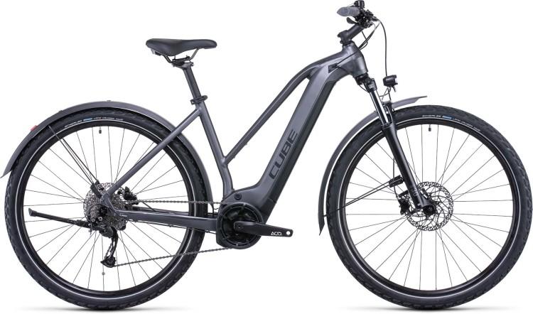 Cube Nuride Hybrid Performance 625 Allroad graphite n black 2022 - E-Bike Hardtail Mountainbike Damen