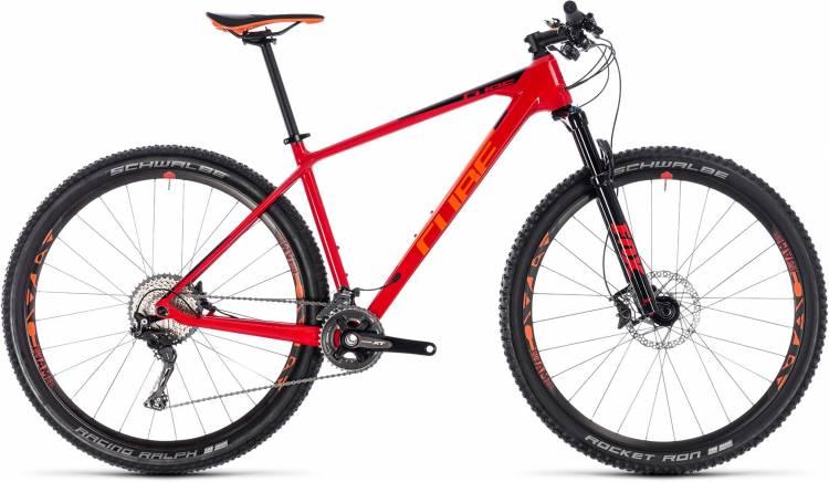 Cube Reaction C:62 Race red n orange 2018 - Hardtail Mountainbike