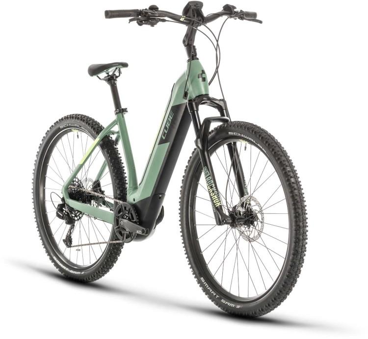 Cube Nuride Hybrid EXC 500 green n sharpgreen 2020 - E-Bike Hardtail Mountainbike