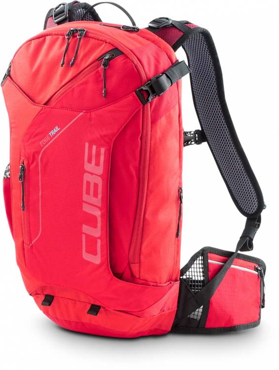 Cube Rucksack EDGE TRAIL red