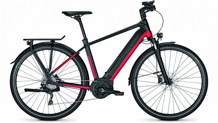 Kalkhoff Endeavour 5.B Move racingred/magicblack matt (Diamond) 2020 - E-Bike Trekkingrad Herren