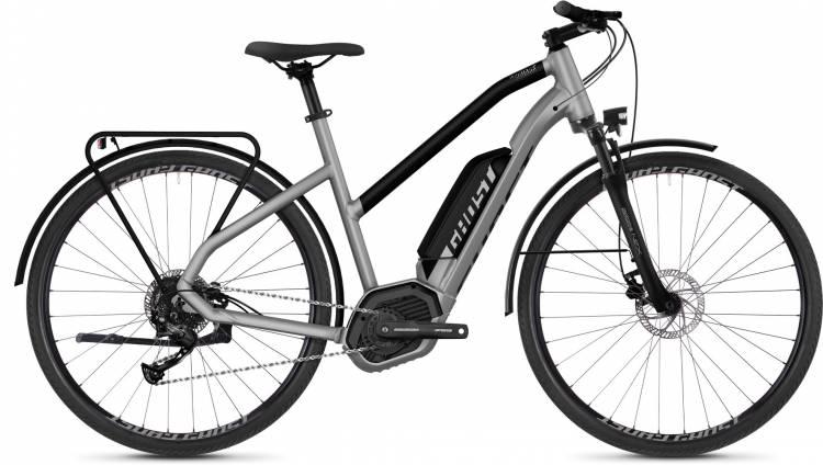 Ghost Hybride Square Trekking B1.8 AL 2018 - Damen Trapez E-Bike Trekkingrad