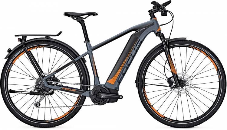 Focus Jarifa I Street 29 blue/black 2017 - Herren E-Bike Trekkingrad