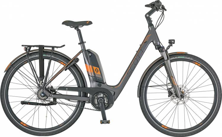 Scott E-Sub Tour Unisex (Belt) 2018 - Tiefeinsteiger E-Bike Trekkingrad