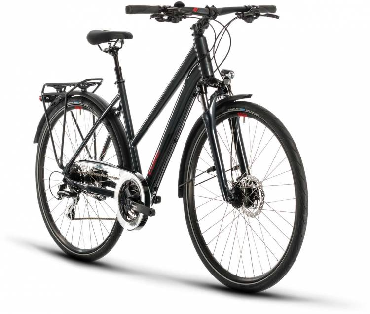 Cube Touring ONE iridium n red 2020 - Trekkingrad Damen