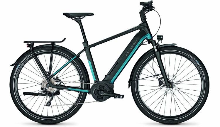 Kalkhoff Endeavour 5.B XXL naviblue/magicblack matt (Diamond) 2020 - E-Bike Trekkingrad Herren