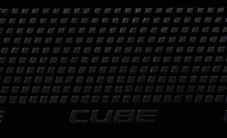 Cube Natural Fit Lenkerband Grip black