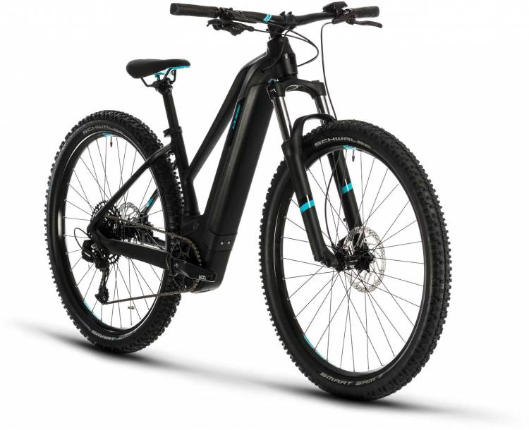 Cube Access Hybrid EX 625 29 black n aqua 2020 - E-Bike Hardtail Mountainbike Damen