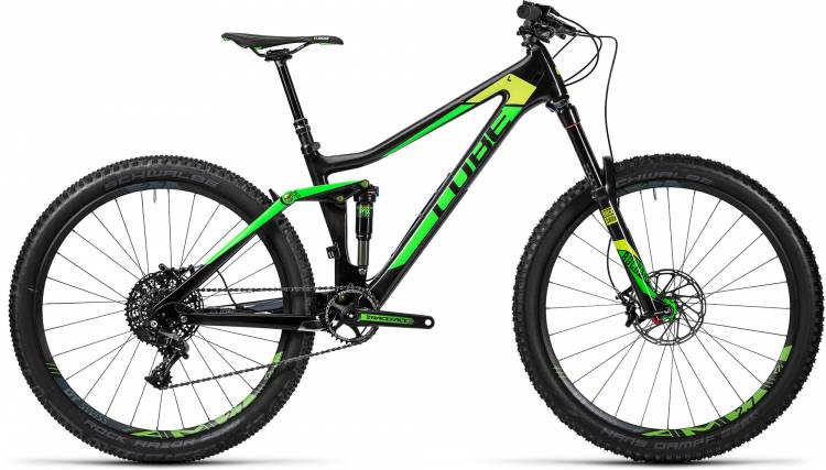 Cube Stereo 140 C:62 SL 27.5 carbon n green 2016