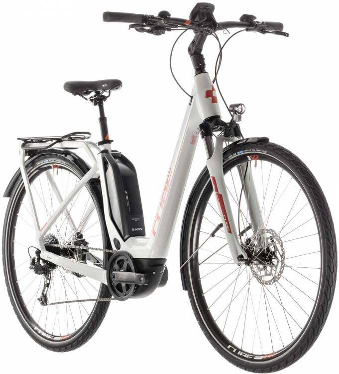 Cube Touring Hybrid 400 grey n orange - Easy Entry 2019