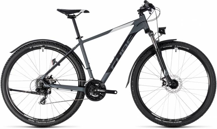 Cube Aim Allroad grey n white 2018 - Hardtail Mountainbike