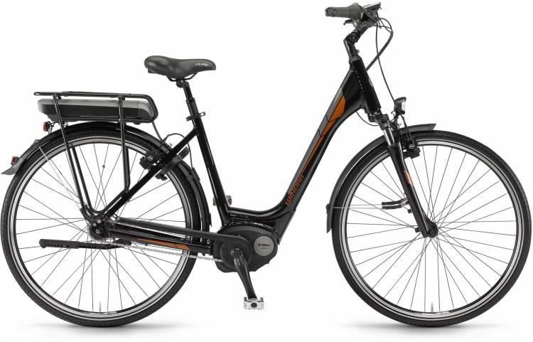 """Winora B270.F 400Wh 28"""" FL schwarz 2017 - Tiefeinsteiger E-Bike Trekkingrad"""