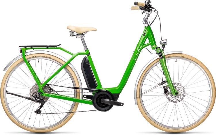 Cube Ella Ride Hybrid 500 applegreen n white 2021 - E-Bike Trekkingrad Tiefeinsteiger