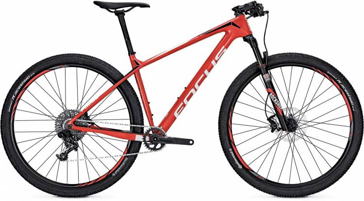 Focus Raven Evo 27 red/white 2017