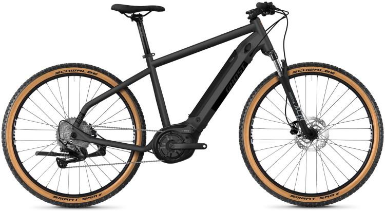 Ghost E-Square Cross Essential B AL U silver 2021 - E-Bike Crossrad Herren