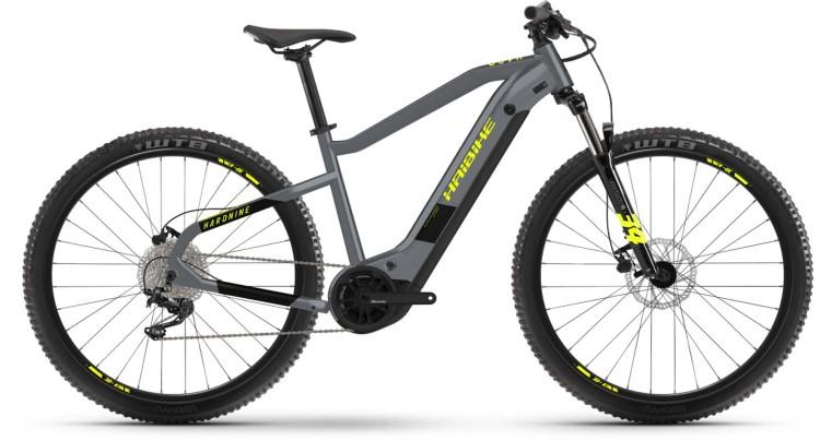 Haibike HardNine 6 i630Wh cool grey/black 2021 - E-Bike Hardtail Mountainbike