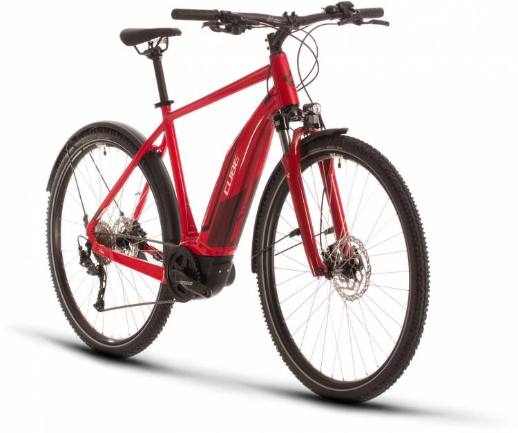 Cube Nature Hybrid ONE 500 Allroad red n red 2020 - E-Bike Crossrad Herren