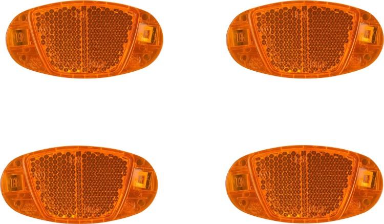 Cube Speichenreflektor Set CMPT orange 4 Stück