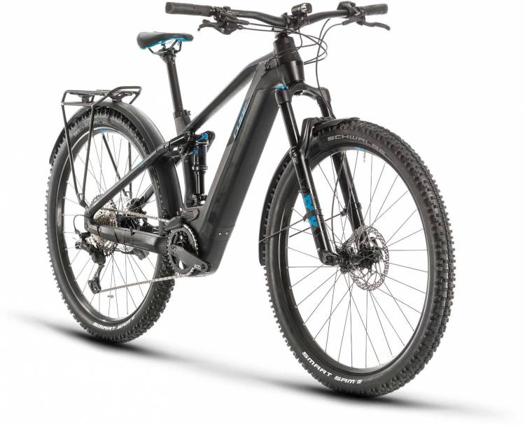 Cube Stereo Hybrid 120 Race 625 Allroad 29 black n blue 2020 - E-Bike Fully Mountainbike