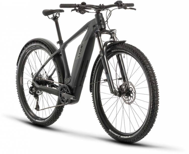 Cube Reaction Hybrid Pro 500 Allroad iridium n black 2020 - E-Bike Hardtail Mountainbike Damen