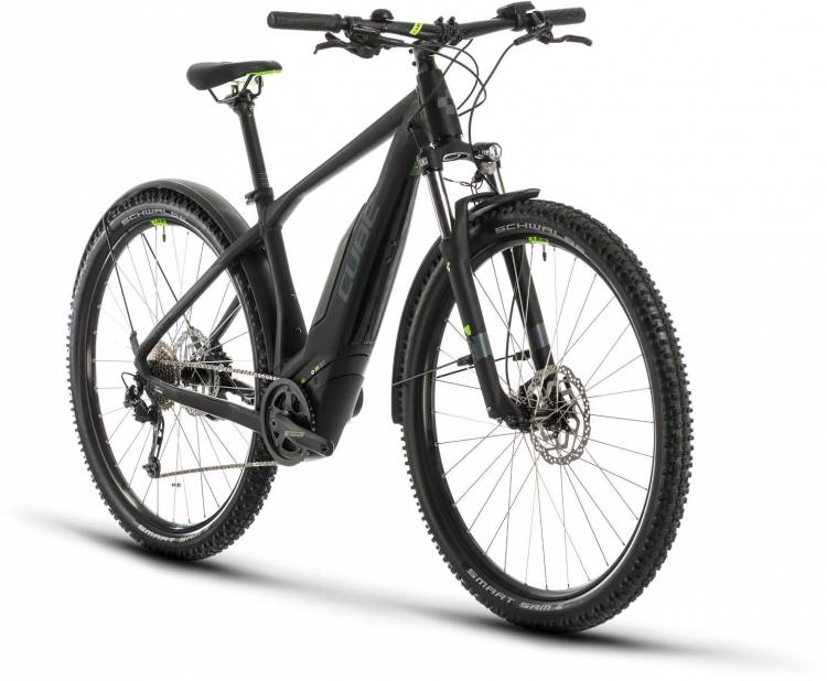 Cube Acid Hybrid ONE 500 Allroad 29 black n green 2020 - E-Bike Hardtail Mountainbike