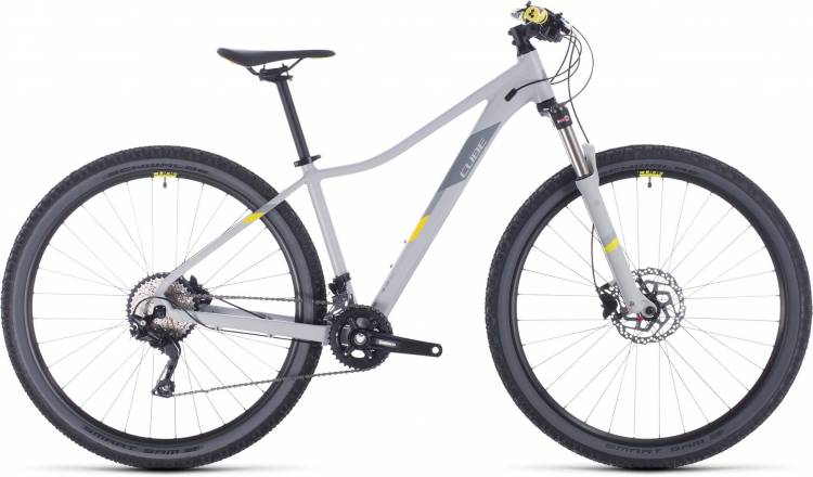Cube Access WS Race grey n lime 2020 - Hardtail Mountainbike Damen