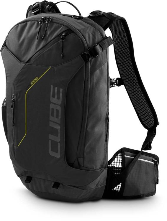 Cube Rucksack EDGE HYBRID black n lime